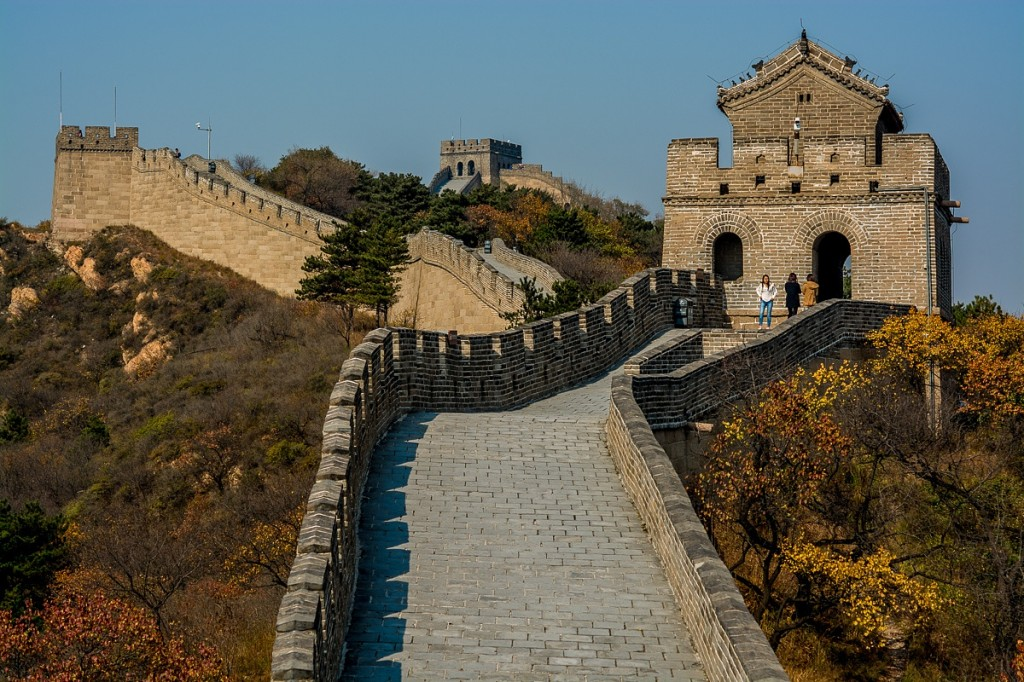 Great Wall of China (CC-BY-NC Robert Menzel)